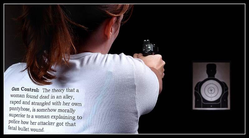 Gun control is a steady aim